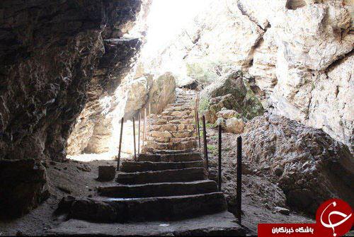 غاری 30 هزارساله در اطراف تهران + تصاویر