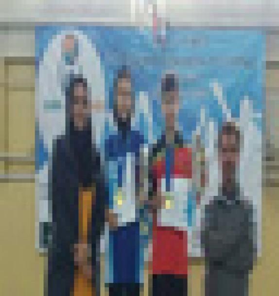 باشگاه خبرنگاران - دختر نونهال مهابادی قهرمان مسابقات منطقه آسیای میانه