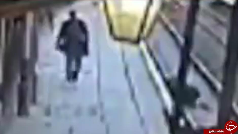 اتفاق شوک برانگیز در ایستگاه مترو هان ول لندن+فیلم