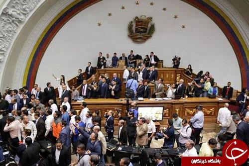 درخواست مخالفان دولتی برای محاکمه شدن رئیس جمهور ونزوئلا