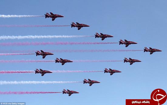 باشگاه خبرنگاران -نمایش هواپیماهای جنگی بریتانیا +تصاویر