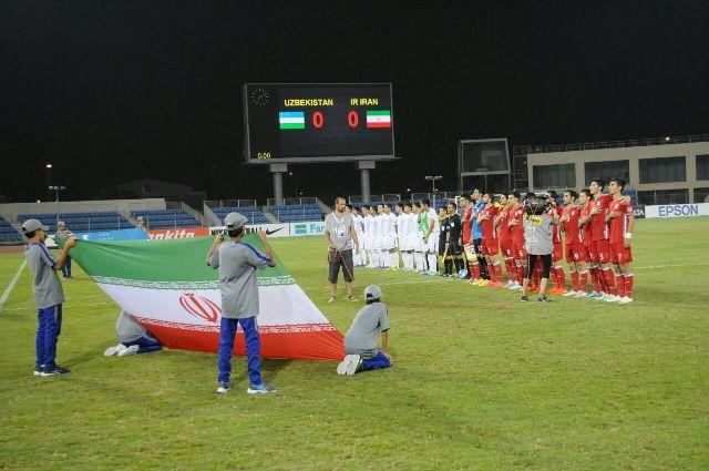 جوانان ایران 2 - جوانان ازبکستان 0