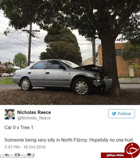 عاقبت خودرویی که به حال خودش رها میشود +تصاویر