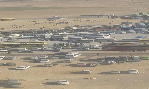 حال و هوای مرز مهران در روز اربعین+ تصاویر