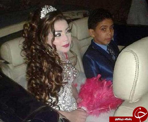 ازدواج نامتعارف دیگر؛ نامزدی پسر 12 ساله با دختر عموی 11 سالهاش +عکس