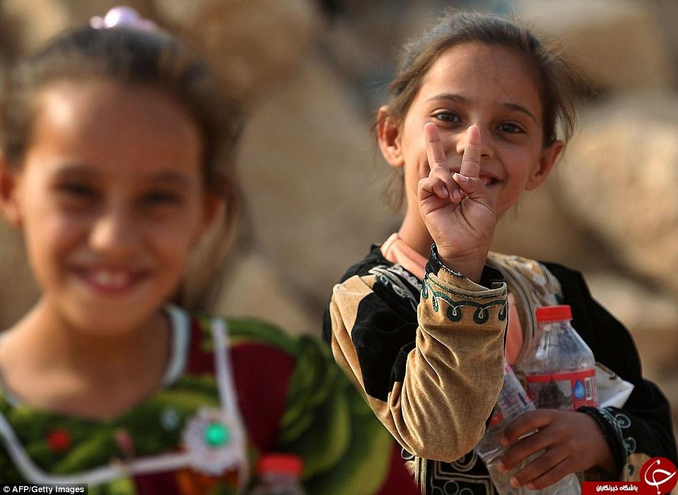 بیم و امید در نگاه کودکان عراقی/آیا آرامش به چشمان آنها بازمیگردد؟ +تصاویر