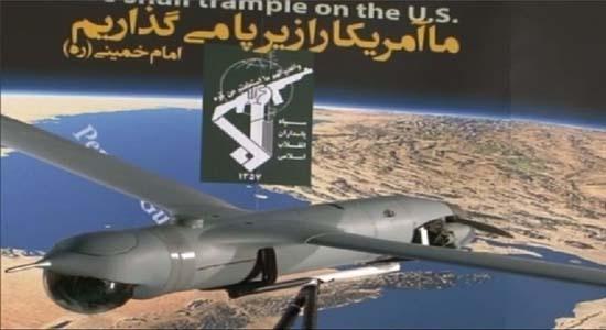 جاسوس هوایی آمریکایی در تور سپاه پاسداران انقلاب اسلامی+ تصاویر