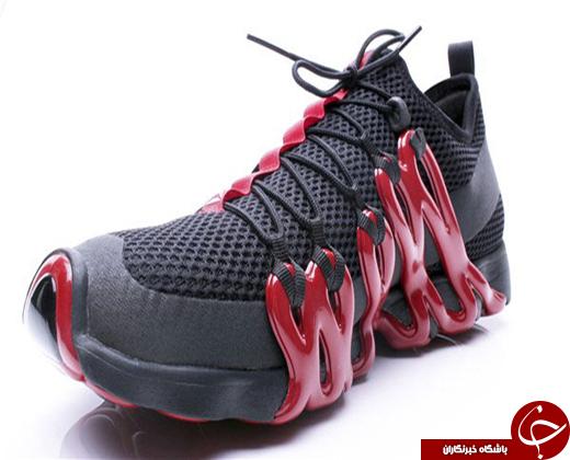 تصاویری از کفشهای ریبوک که با پرینتر 3 بعدی چاپ شدهاند