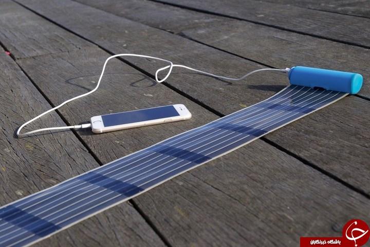 جمع وجور ترین شارژر خورشیدی جهان