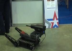 رونمایی از اولین روبات تیرانداز در روسیه + فیلم