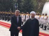 باشگاه خبرنگاران -استقبال رسمی روحانی از رییس جمهوری فنلاند+ فیلم و تصاویر
