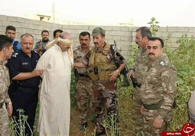 دستگیری پسر خاله صدام حسین در تانکر آب