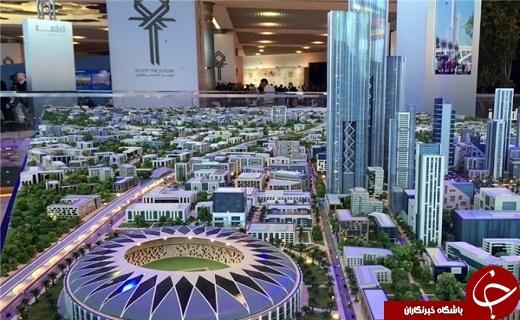 چینیها برای مصر پایتخت جدید میسازند+تصاویر