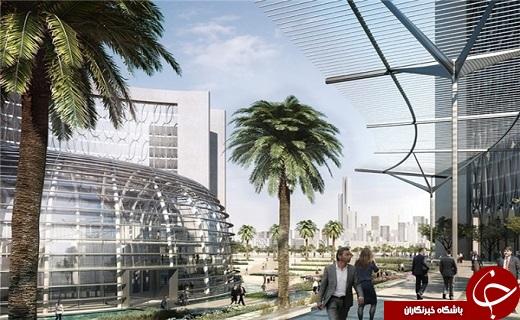 چینی ها برای مصر پایتخت جدید می سازند+تصاویر