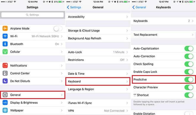 مشکل هنگ کردن کیبورد در iOS 10 حل شد+ آموزش