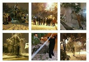آمادگی نیروهای سپاه، بسیج و ارتش برای مقابله با بحران برف در اردبیل