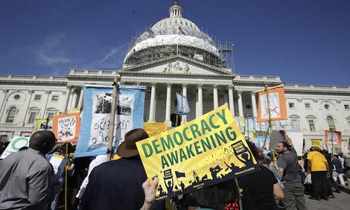 بحران مشروعیت انتخابات در سرزمین مدعیان دموکراسی