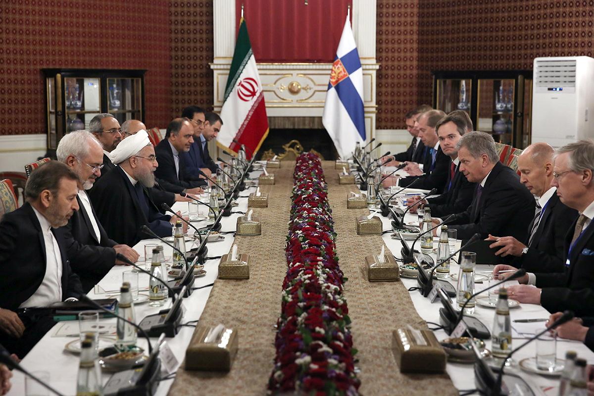 همکاری بین المللی برای کمکهای نوعدوستانه به مردم سوریه و یمن ضروری است/هیچ مانعی برای توسعه روابط تهران - هلسینکی وجود ندارد