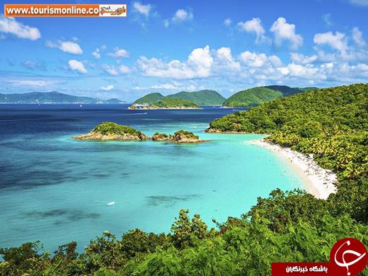 قیمت تور سنت لوسیا قیمت تور سانتورینی یونان دریای کارائیب جزیره زیبا جزایر دورافتاده و بکر توریستی یونان توریستی کارائیب Santorini Saint Lucia