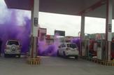 باشگاه خبرنگاران - اجرای طرح ارتقای اطفای حریق مخازن شرکت نفت + تصاویر