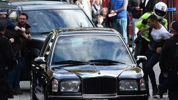 حمله به خودروی پادشاه بحرین در لندن