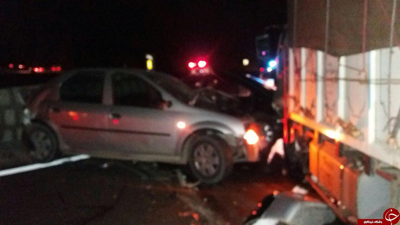 سلام بجنورد - دو تصادف در جاده دو هزار و پیچ مرگ +تصاویر