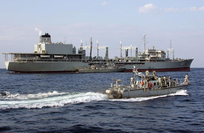 ناوگروه 44 نیروی دریایی راهبردی ارتش، وارد تانزانیا شد