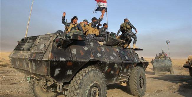 ادامه پیشروی نیروهای عراقی به سوی موصل از جنوب و جنوب شرقی