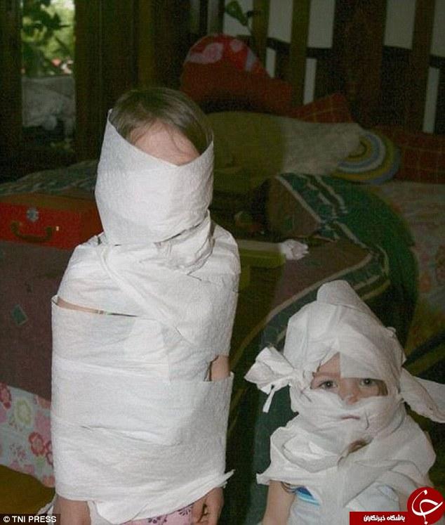 در صورت تنها گذاشتن کودکانتان با این صحنه ها مواجه خواهید شد+10 عکس