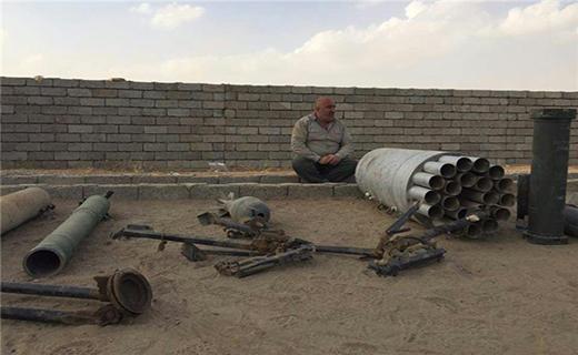 کشف موشکهای آمریکایی در مقر داعش در جنوب موصل