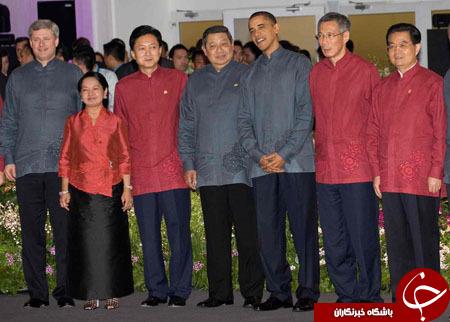 پوشش جالب مقامات سیاسی جهان در اجلاس اَپک+ تصاویر