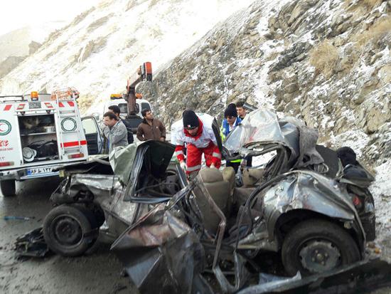 4 کشته در سقوط پژو به دره چالوس - 57