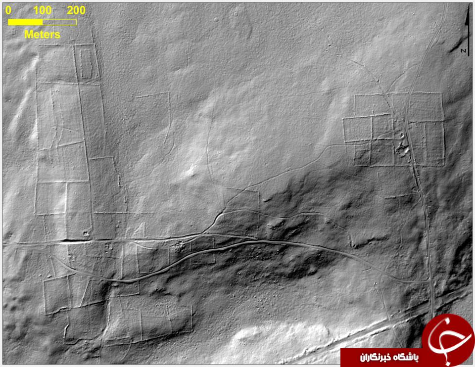 کشف یک محوطه باستانی در دل یک جنگل توسط ناسا+تصاویر