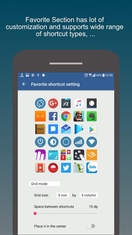 دانلود Swiftly switch برای اندروید / نرم افزار کاربردی سوییچ سریع بین اپلیکیشن ها