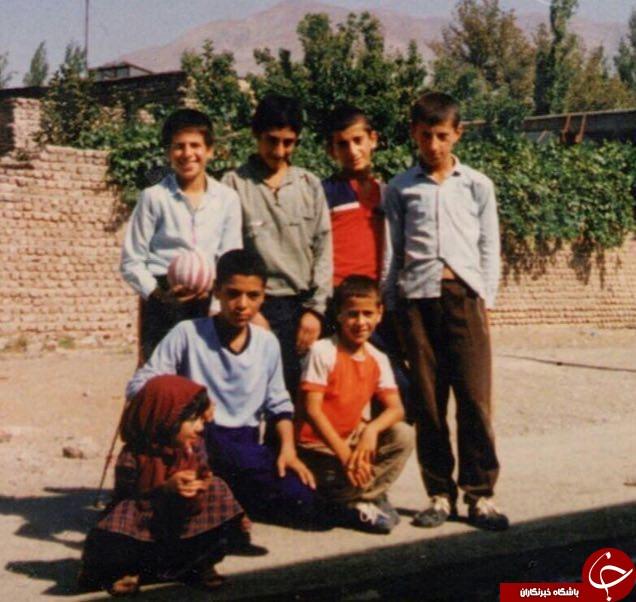 علی کریمی، 30 سال قبل + عکس