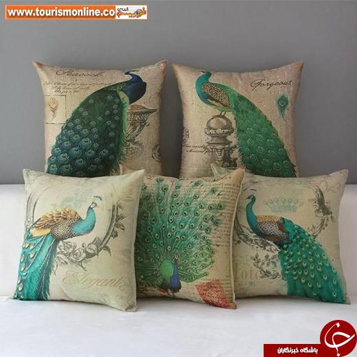 عکس/ دکوراسیونی از جنس طاووس