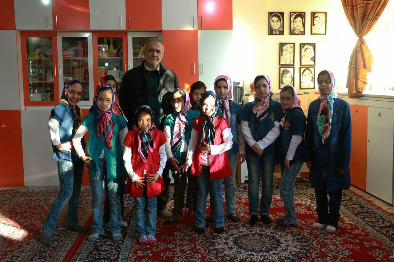 بازدید دکتر پزشکیان از مؤسسه خیریه همدم(فتح المبین)