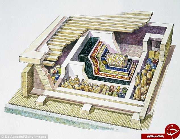 جنازه ای که پس از 2000 سال کشف شد + تصاویر