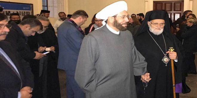 مفتی اعظم سوریه: به مانند ایران و روسیه، به سوریه بیاید تا واقعیت را ببینید