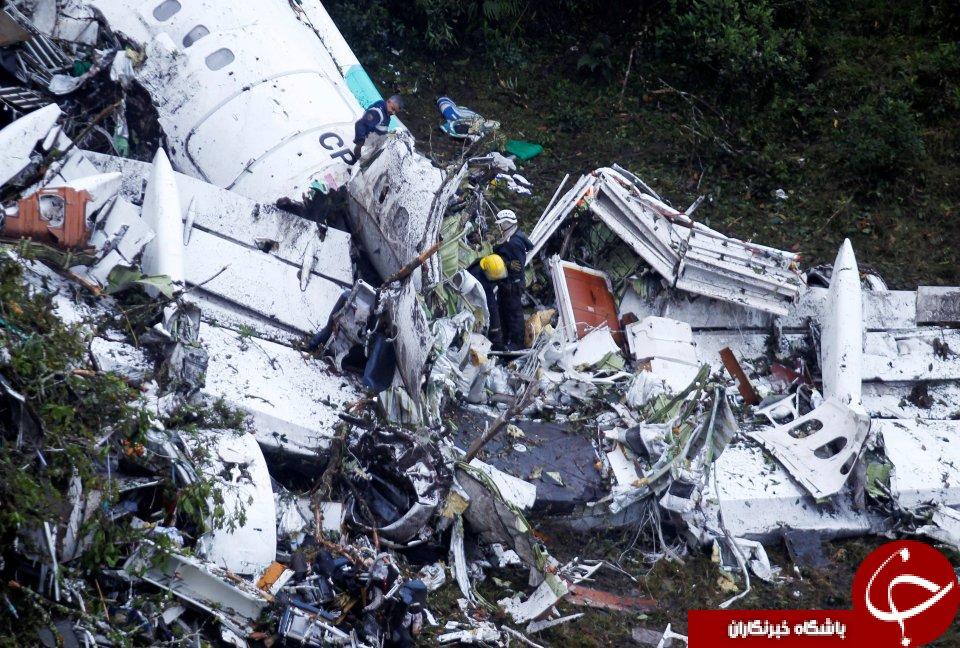 ادعای عجیب یک پرسنل فرودگاه مدلین در خصوص سقوط هواپیمای برزیلی+تصاویر