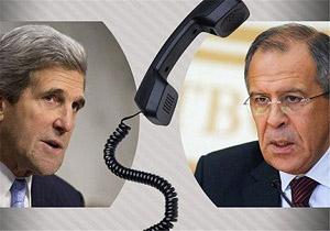 گفتگوی تلفنی کری و لاوروف درباره جنگ سوریه