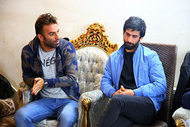 مراسم معارفه علی کریمی به عنوان مدیرفنی تیم فوتبال خونه به خونه