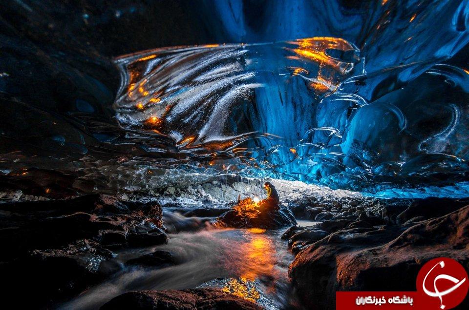 تصاویری خیره کننده از بزرگترین یخچال طبیعی اروپا+تصاویر
