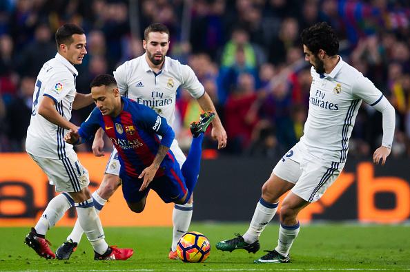 بارسلونا 1 - رئال مادرید 1