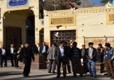 باشگاه خبرنگاران - اعتراض کارگران کارخانه پارسیلون در مقابل استانداری لرستان +تصاویر