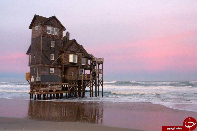 اسرار آمیزترین و رمانتیک ترین خانه های عاشقانه+تصاویر