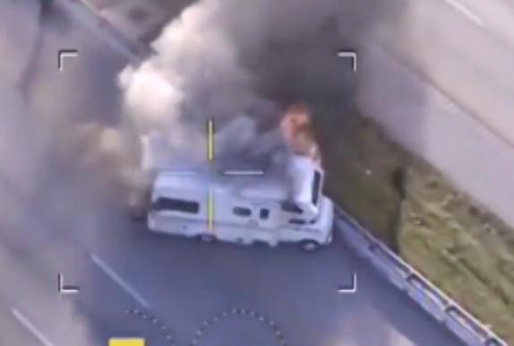 باشگاه خبرنگاران - تعقیب و گریز پلیس با تصادف سهمگین به پایان رسید + فیلم