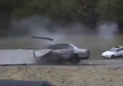 باشگاه خبرنگاران - تصادف با سرعت 200 کیلومتر در ساعت + فیلم