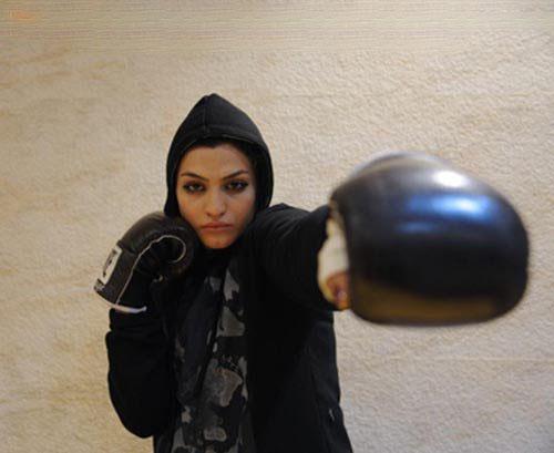 دختر ایرانی بیوگرافی صدف خادم بوکسور زن بوکسور ایرانی اینستاگرام صدف خادم