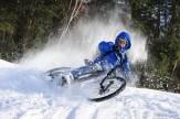 باشگاه خبرنگاران -معضلات دوچرخه سواری در فصل سرما